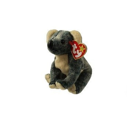 SPOOKY the Ghost TY Beanie Baby 4th Gen hang tag -MWMTs Stuffed Toy 8 inch