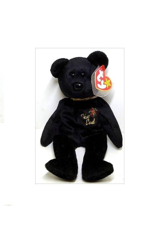 f007cc8ba Ty Beanie Babies The End Bear