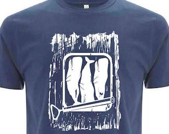 CACHALOTS organic unisex cotton shirt