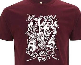 STRANGE FRUIT unisex organic cotton T-shirt