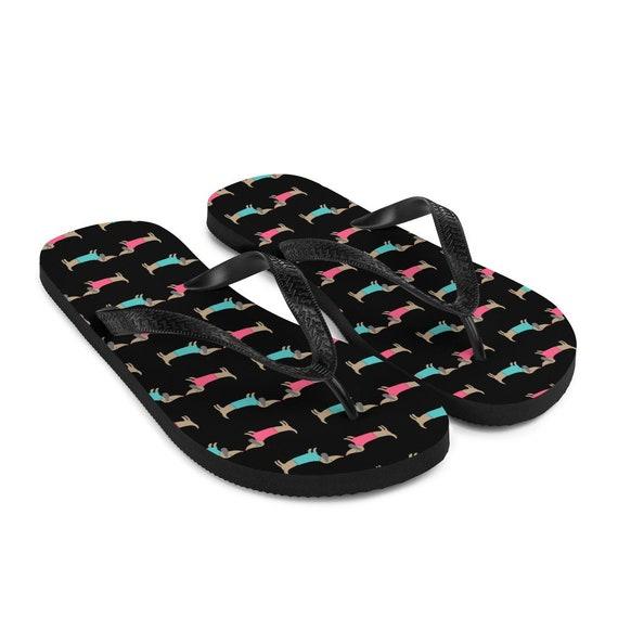Dachshund Lover Flip-Flops Dachshund Sandals Dachshund Flip-Flops Dachshund Mama Sandals Dog Sandals Women/'s Summer Sandals Flip-Flops
