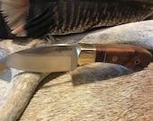 Custom skinning Knife for Deer or Elk - A fixed blade, hand or bench made custom skinner, the best hunting or EDC Knives