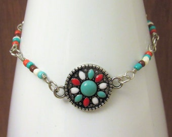 Southwestern Tile Bracelet