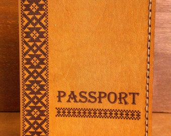 Passport Leather Cover,