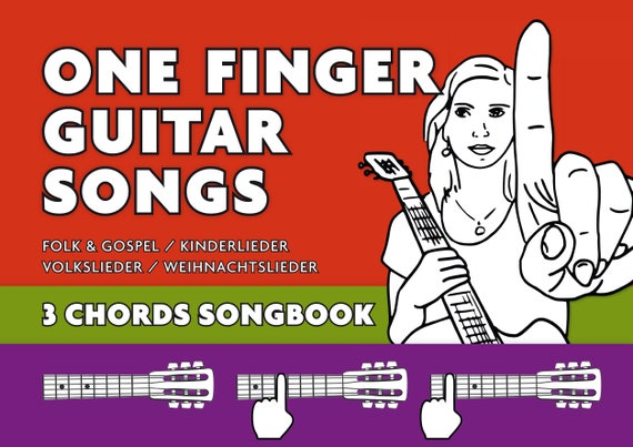 3-Chords Guitar Songbook-play All this songs on your guitar | Etsy