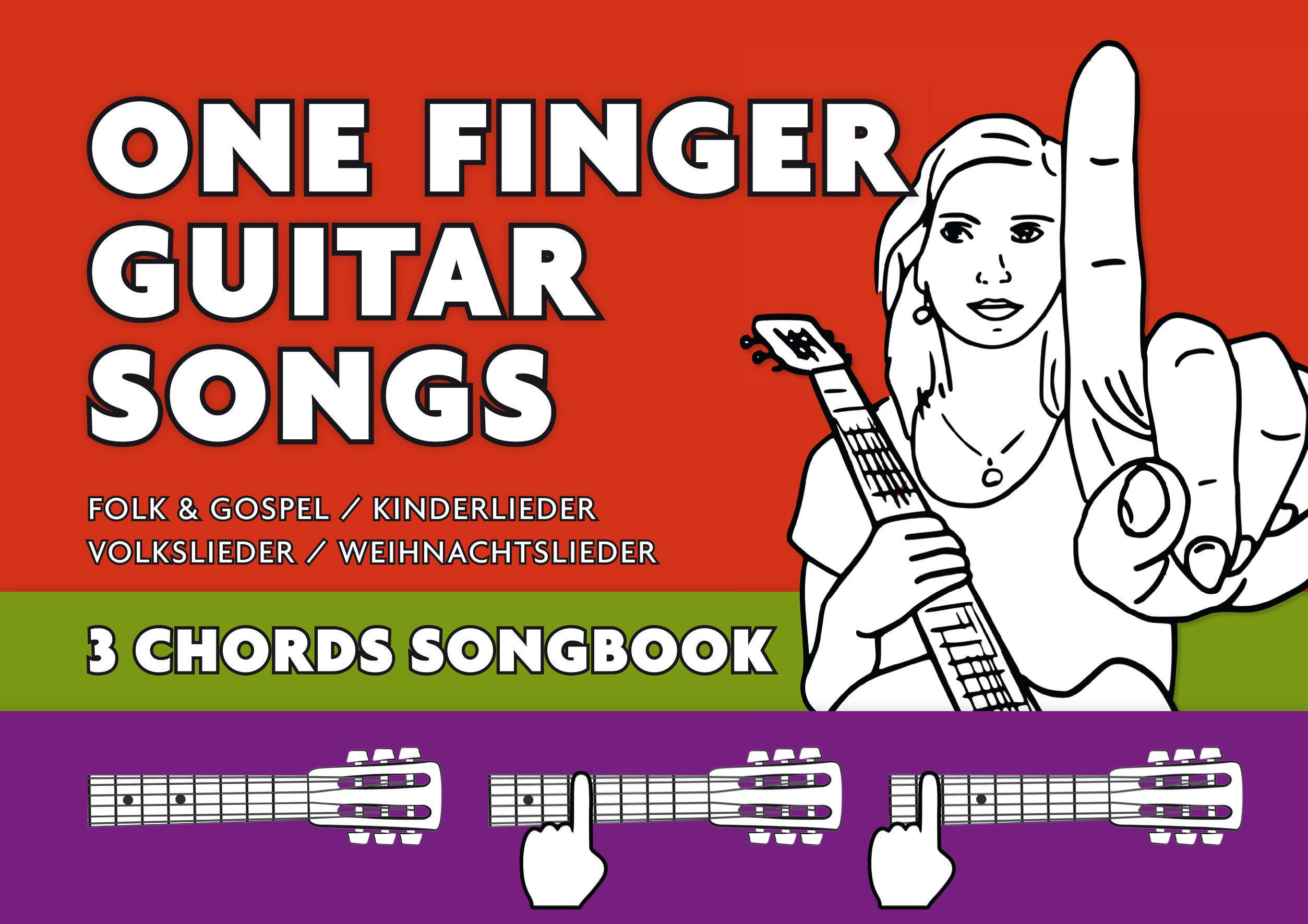 3 Chords Guitar Songbook Play All This Songs On Your Guitar Etsy