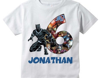 Black Panther Face Kids T-Shirt from The Mountain Childs Sizes NEW
