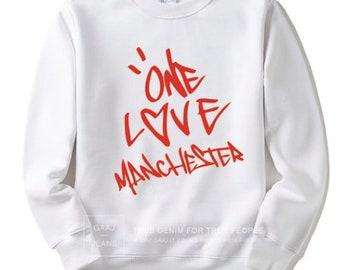 80002fd97 One Love Manchester crew neck hoodie   sweatshirts