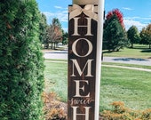 Home Sweet Home Sign, Welcome Sign, Porch Sign, Home Sweet Home, Home Sign, Custom Porch Sign