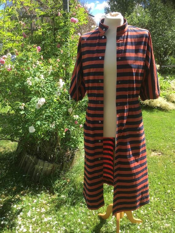 Vuokko stripe dress - image 2