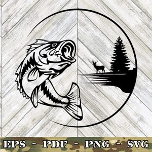 Download Fishing Svg Etsy