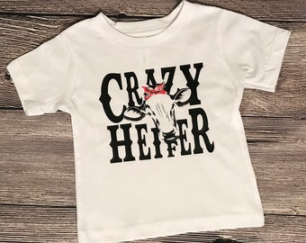 Crazy Heifer Shirt Infant-3x