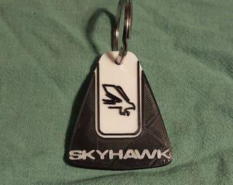 Custom 3D printed Cessna Skyhawk key-ring