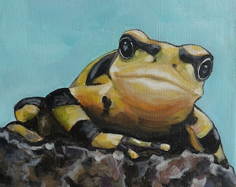 Original Tree Frog Painting