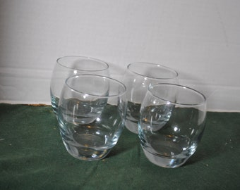 Lot of 4 Sonoma Lifestyle Rocks Drinking Glasses