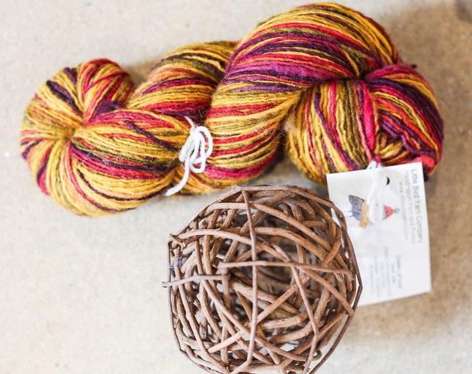 Hell Broth for knitting, crochet, weaving, Sport weight