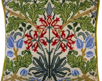 Tapestry Cushion Kit Hyacinth motif original Bothy Threads