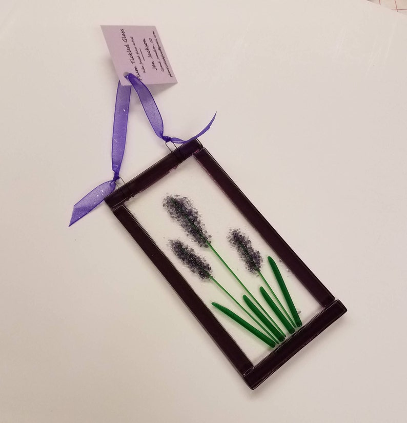 Lavender sun catcher gifts for gardeners gifts for image 1