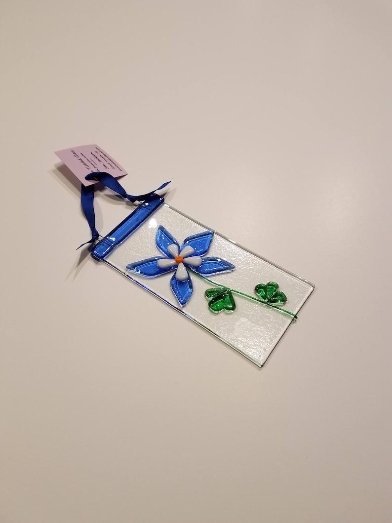 Colorado columbine sun catcher gift for teachers gift for image 0