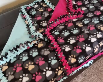 Pet fleece blankets