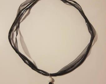 Panda bear charm necklace