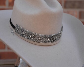 Silver Hat Band
