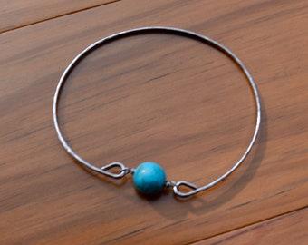 Turquoise Ball Bangle