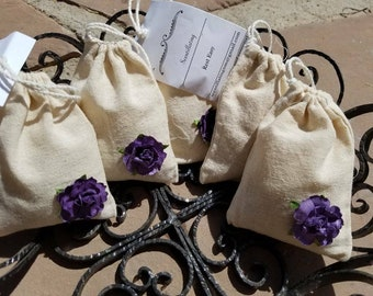 Rest Easy Organic Essential Oil Scented Travel Pouch luggage, linen, cars, presents, shower gifts, thank you, drawers, coworkers, teachers