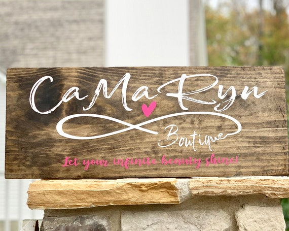 Custom Logo Wood Sign | Your Logo here |  Farmhouse Decor | Christmas Gift | Rustic Wood Sign | Custom Wood Sign | Gift for Boss or Coworker