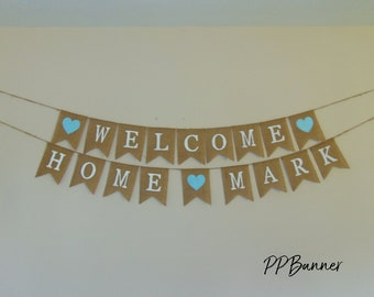 Welcome Baby Banner Etsy