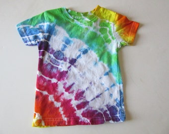 Rainbow Tie Dye Cotton Baby T-Shirt