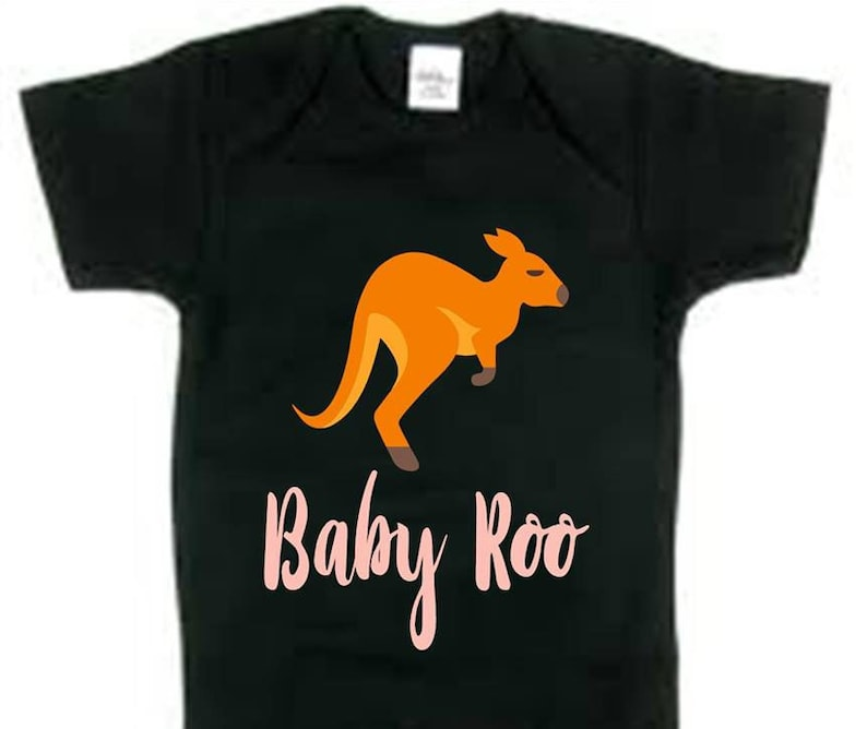 BodysuitBaby RooPerfect For Baby Shower or a Gender Reveal Party.