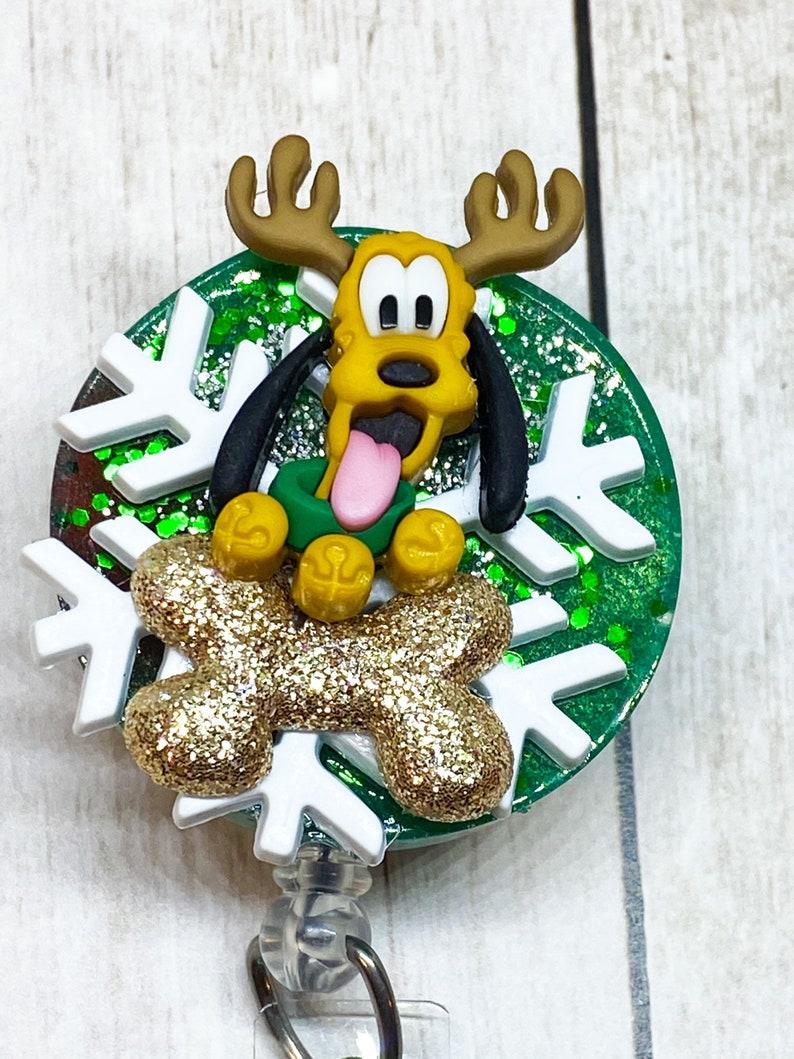 Nursing Student Gift Carabiner Stethoscopes ID Tag Christmas Retractable ID Badge Holder ID Badge Reel- Cute Badge Reel Lanyard