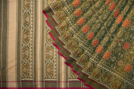 Cotton Tissue Patola Saree