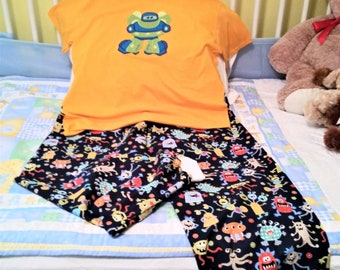 ABDL Pajamas Adult Baby Robot Monsters