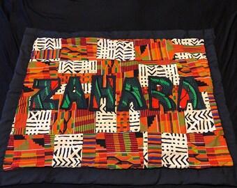 Ankara Baby Blanket/Quilt