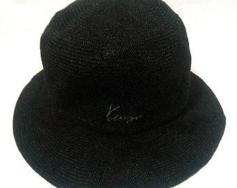 KENZO BUCKET HAT medium size black colour 05962abe2246
