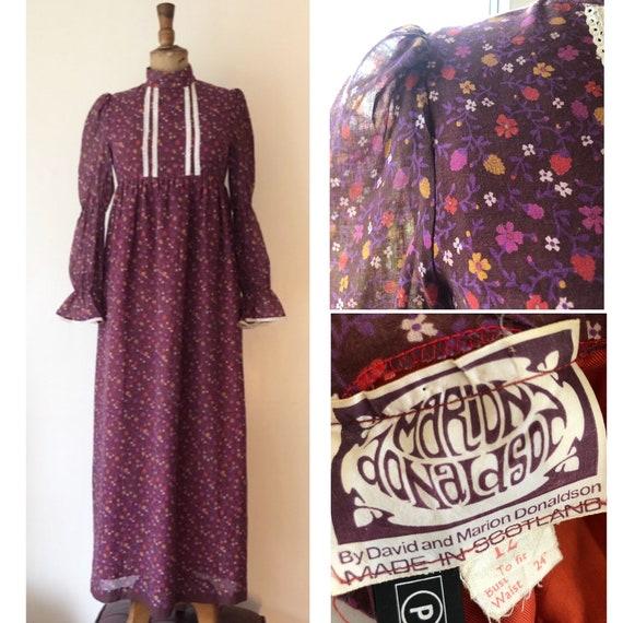 1960s vintage early Marion Donaldson cotton prairi