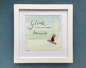 Sea glass hand-hand-cutter image quot Happiness is the sum of beautiful moments quot