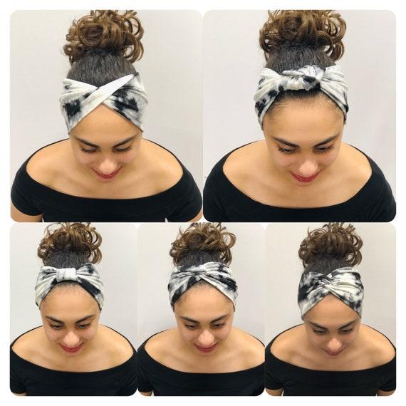 Top Knot Headband Tie Dye Turban Headband