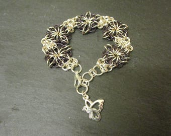Celtic Star Chainmail Bracelet
