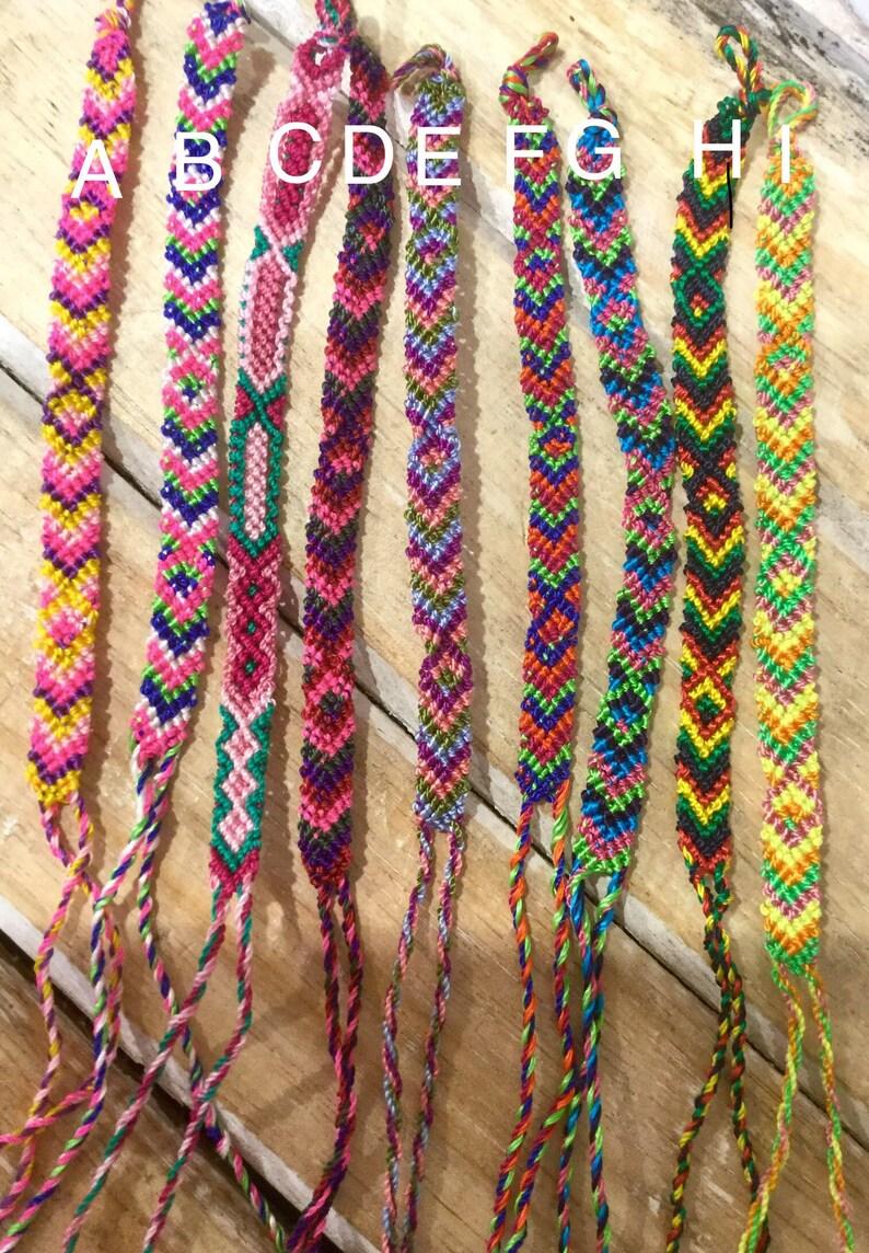 ad8a7bf1963 Woven Friendship Bracelet omega Friendship Bracelet Best | Etsy