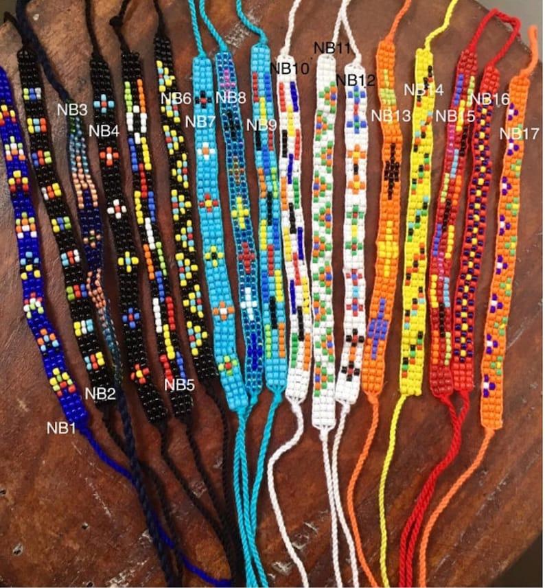 699501e07d7 Friendship Bracelets-Seed Beads Bracelet-Hand beaded-Best | Etsy