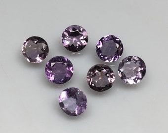 Natural Amethyst Heart Cut Lot Cabochon Amethyst Amethyst 5x5 MM Purple Amethyst Amethyst Jewelry Loose Gemstone.AAA+++