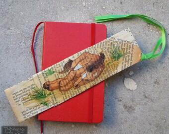 Sleeping foal bookmark