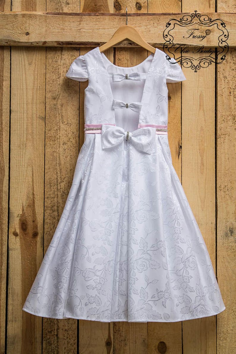 9a7a02a32b57e Rustic Flower Girl Dresses Etsy