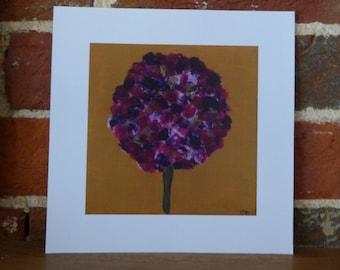 Hydrangea - 20cm x 20cm print
