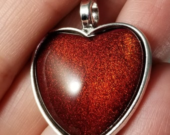 UP Indie Polish Heart Necklace