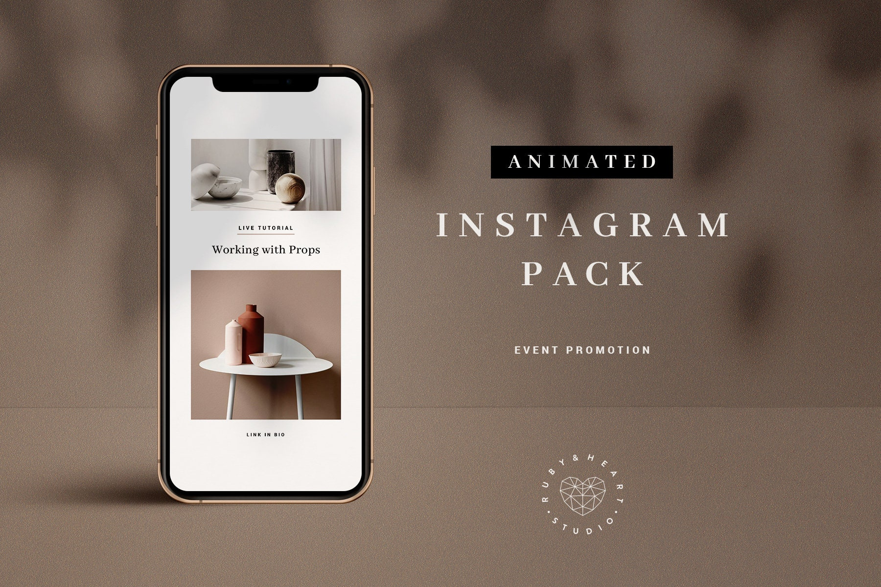 Instagram Story Template, Animated Instagram Template, Event Promotion,  Video Template, Social Media Template for Blogger