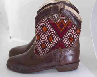 Moroccan Boots Etsy